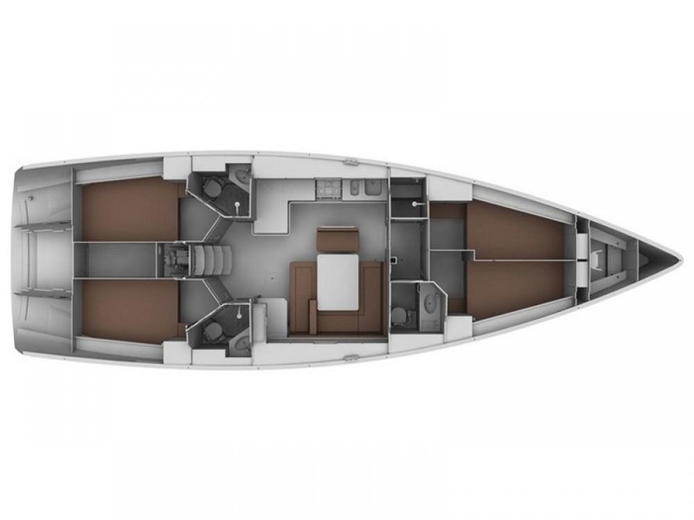 Noleggio barche Bavaria Bavaria Cruiser 45 Skiathos su Samboat