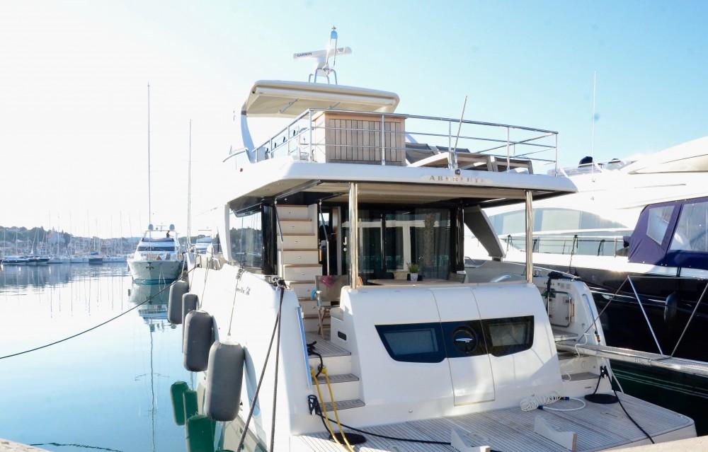 Noleggio yacht Rogosnizza - Absolute Navetta 58 su SamBoat