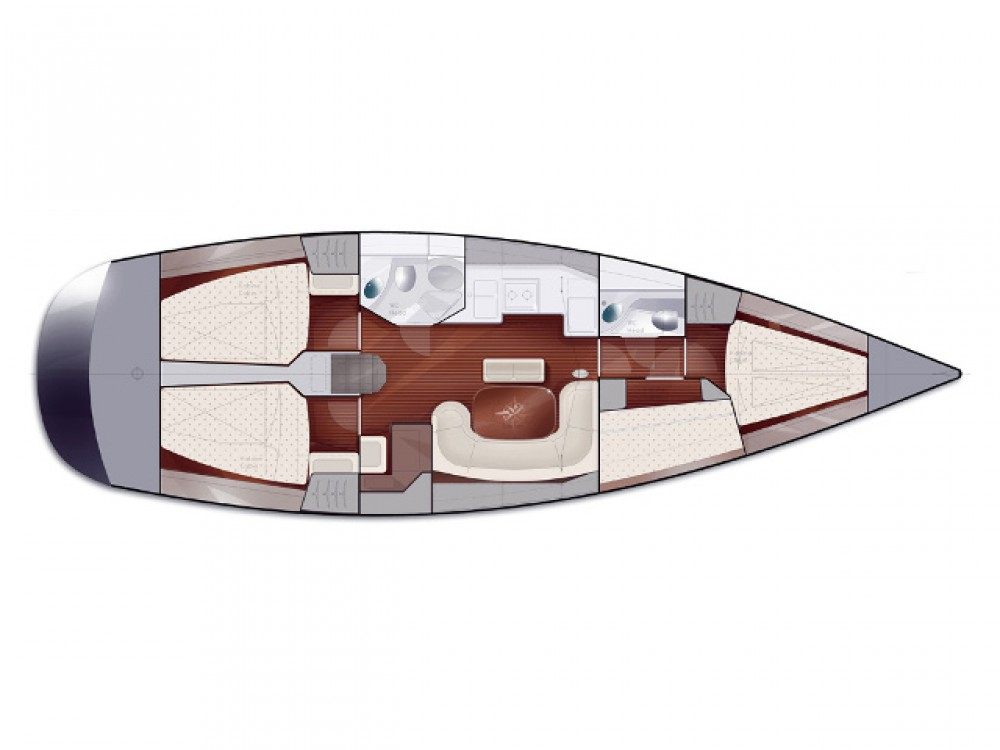 Noleggio yacht Traù - Salona Salona 45 su SamBoat