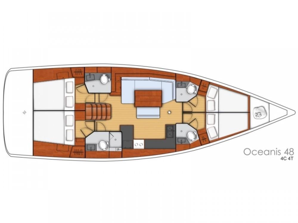 noleggio Barca a vela  - Bénéteau Oceanis 48