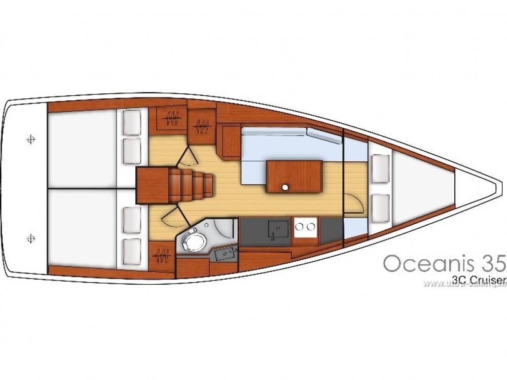 Noleggiare un'Bénéteau Oceanis 35.1 Spalato