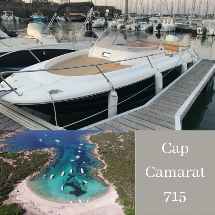 Noleggio barche Serra-di-Ferro economico Cap Camarat 715 WA