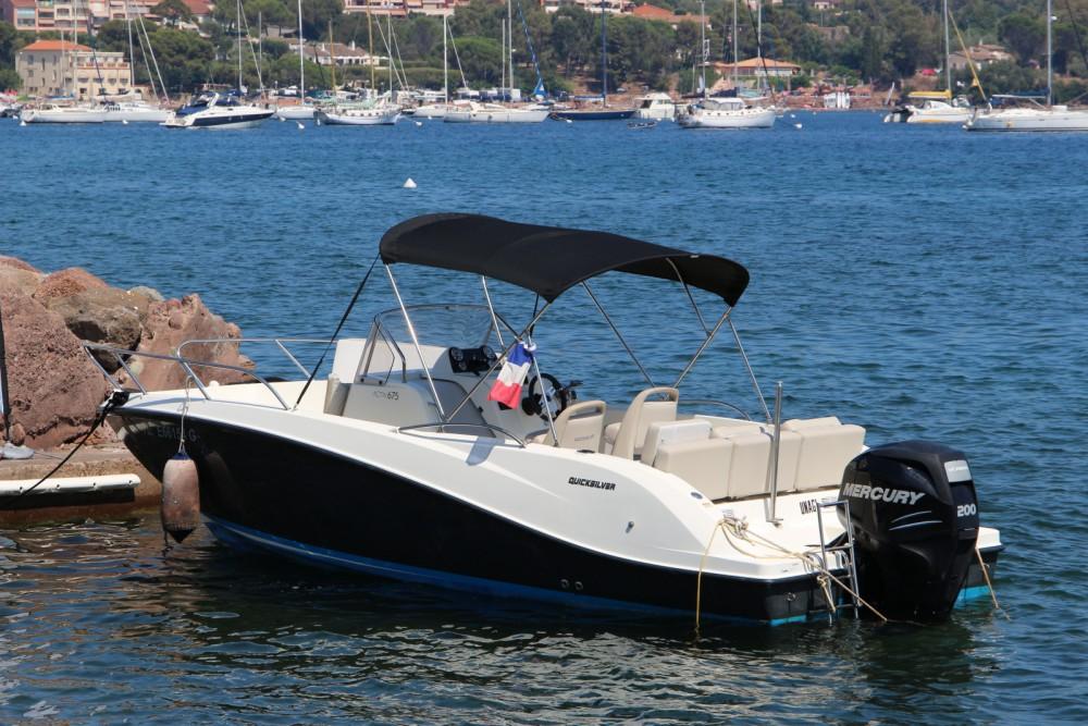 Noleggio barche Saint-Raphaël economico Activ 675 Open