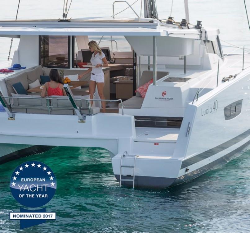 Noleggio yacht Croazia - Fountaine Pajot Lucia 40 su SamBoat