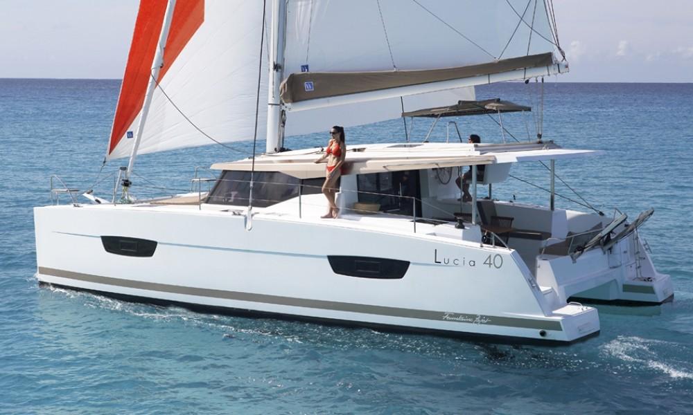 Noleggio barche Fountaine Pajot Lucia 40 Croazia su Samboat