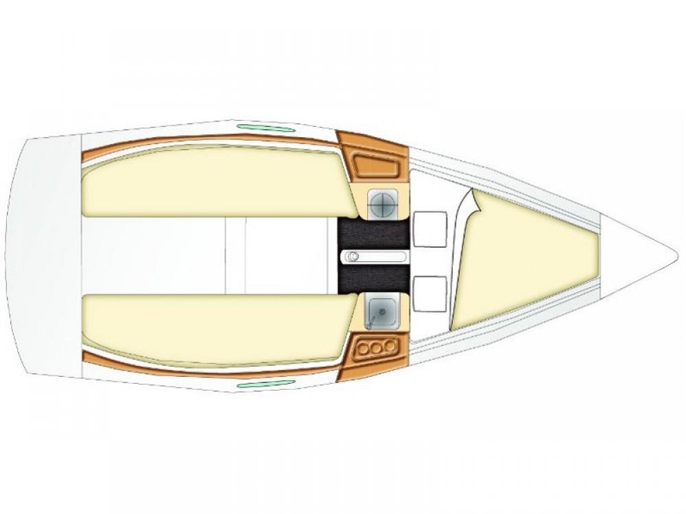 noleggio Barca a vela Split - Bénéteau Beneteau First 21.7