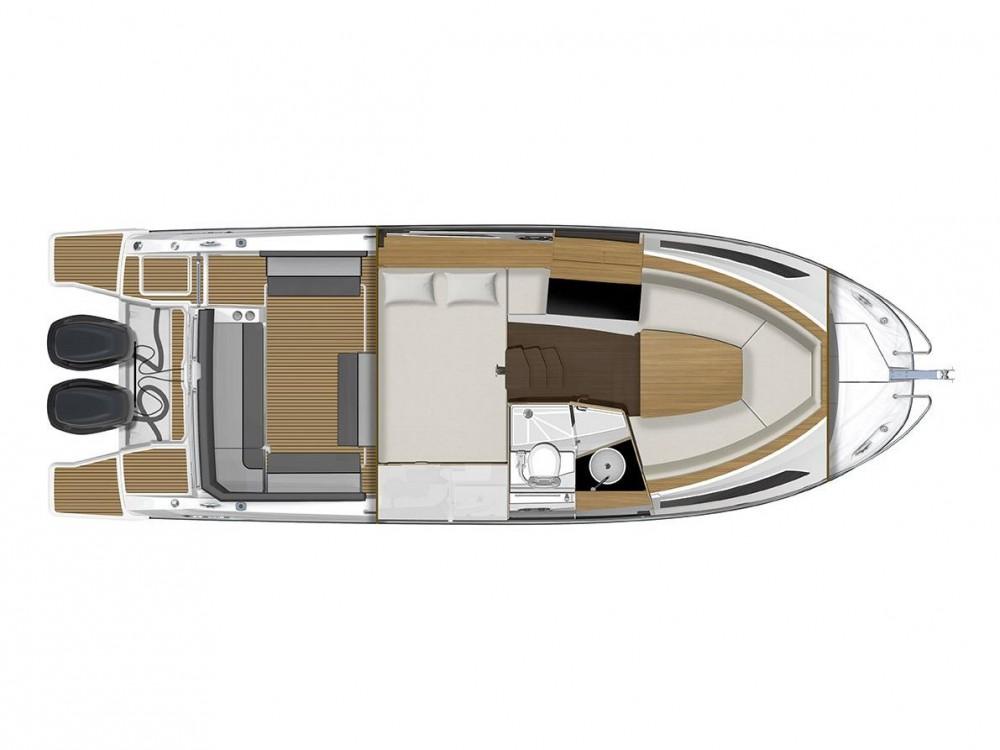 Noleggio barche Pola economico Jeanneau Cap Camarat 9.0 WA