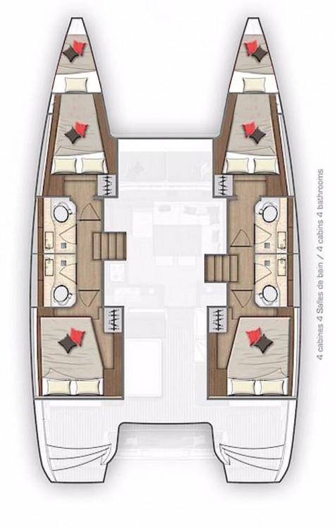 Noleggio barche Croazia economico Lagoon 40 - 4 + 2 cab