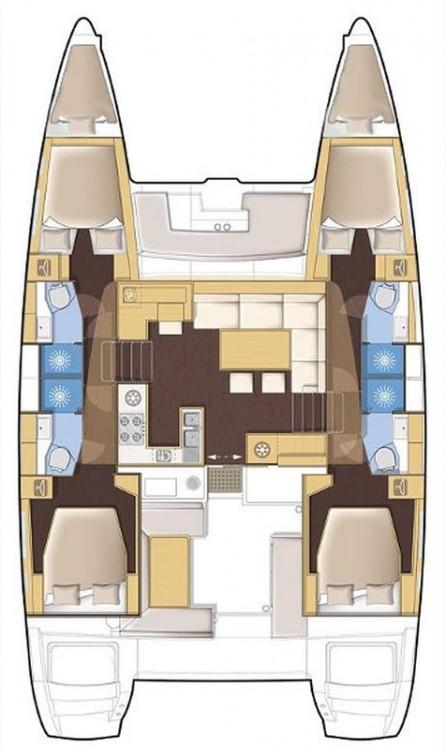 Noleggio barche Spalato economico Lagoon 450