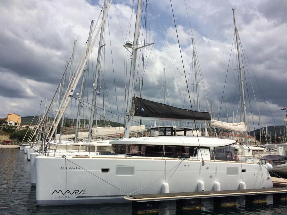 noleggio Catamarano Sebenico - Lagoon Lagoon 450