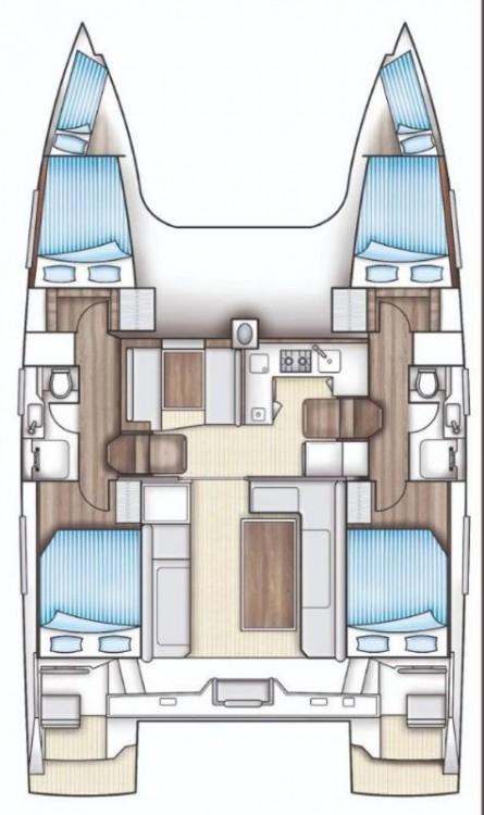 Noleggio barche Bavaria Nautitech 40 open NEW - 4 + 2 cab. Leucade su Samboat