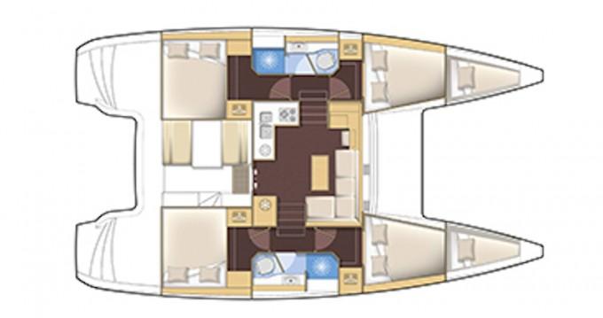 Noleggio yacht a Betina – Lagoon Lagoon 39 su SamBoat