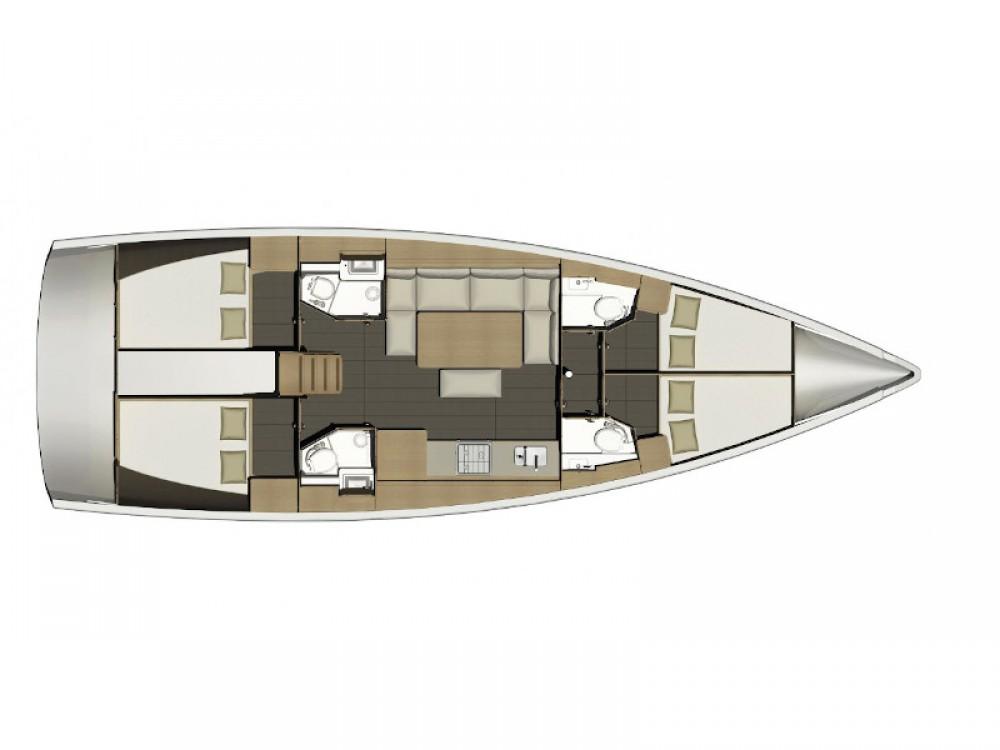Noleggio barche Follonica economico Dufour 460 GL