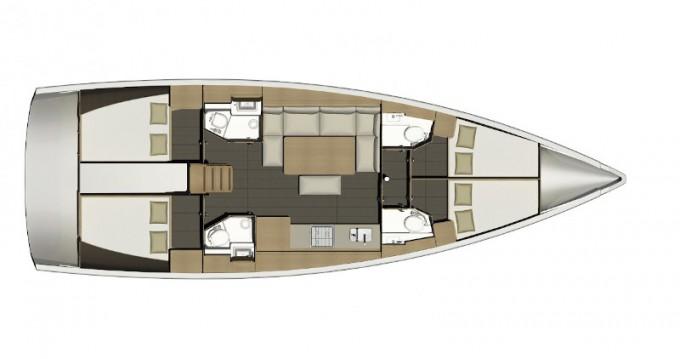 Noleggio barche Follonica economico Dufour 460 Grand Large