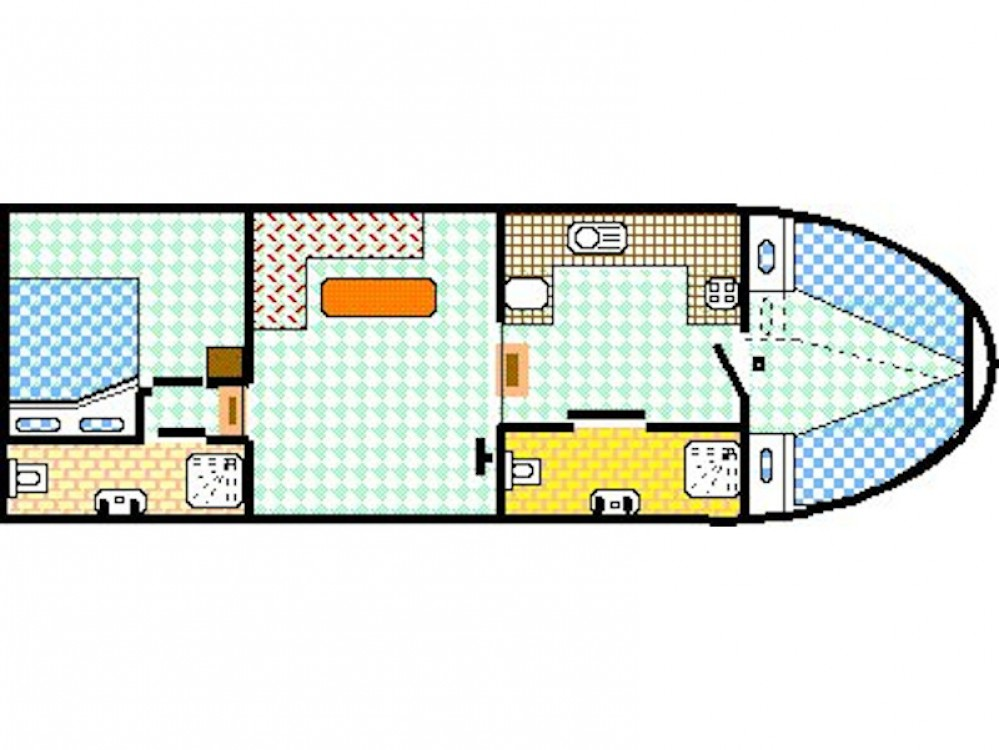 Noleggio yacht Saint-Cyr-les-Colons - Viking Burgundy 1200 su SamBoat