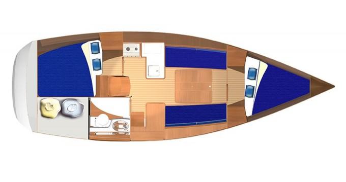 Noleggio barche Dufour Dufour 325 a Veruda su Samboat