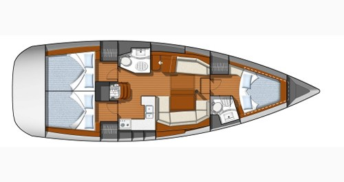 Noleggio Barca a vela con o senza skipper Jeanneau a Castiglioncello