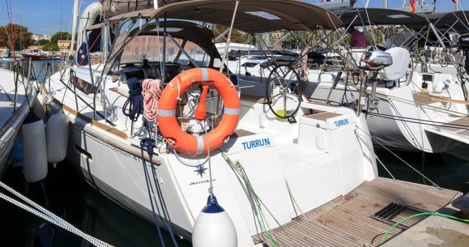 Noleggio barche Jeanneau Sun Odyssey 419 a Palma de Maiorca su Samboat