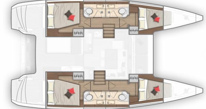 Noleggio barche Lagoon Lagoon 40 a Portoferraio su Samboat