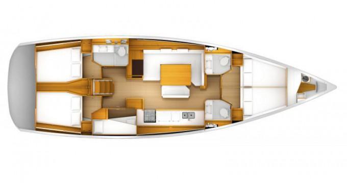 Noleggio barche Atene economico Sun Odyssey 509 (2015 )( FULL REFIT 2020 - A/C,GENERATOR,INVENTER )