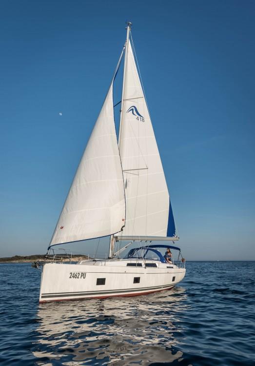Noleggio barche Pola economico Hanse 418
