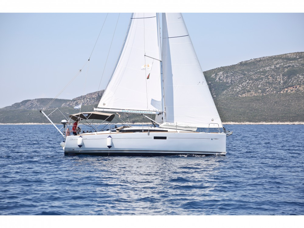 noleggio Barca a vela Δήμος Βόλου - Jeanneau Sun Odyssey 349