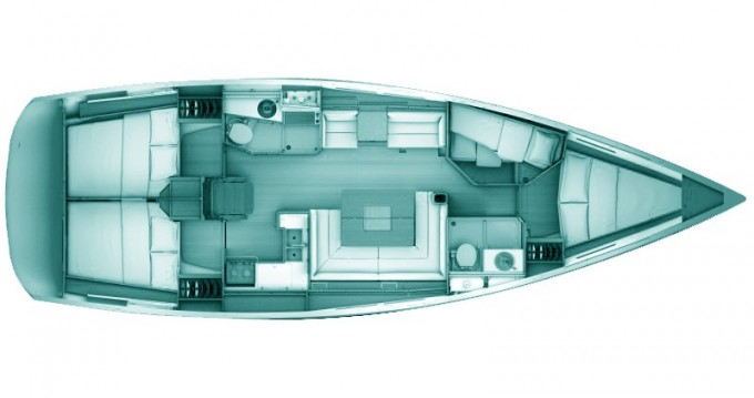 Noleggio Barca a vela a Volos – Jeanneau Sun Odyssey 439