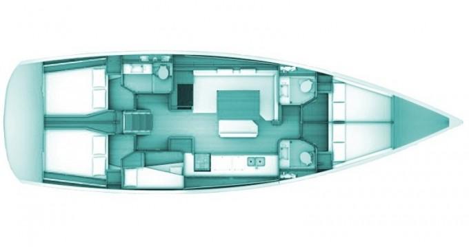 Noleggio barche Volos economico Sun Odyssey 509