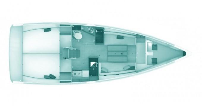 Noleggio barche Jeanneau Sun Odyssey 349 a Skópelos su Samboat