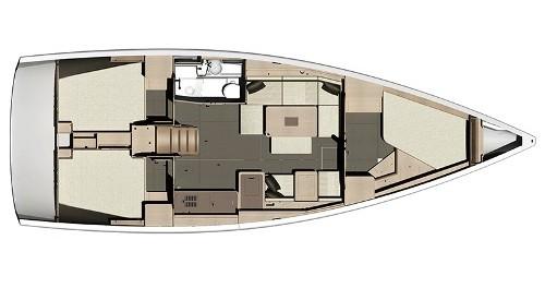 Noleggio Barca a vela a Veruda – Dufour Dufour 410 (3c-1h)