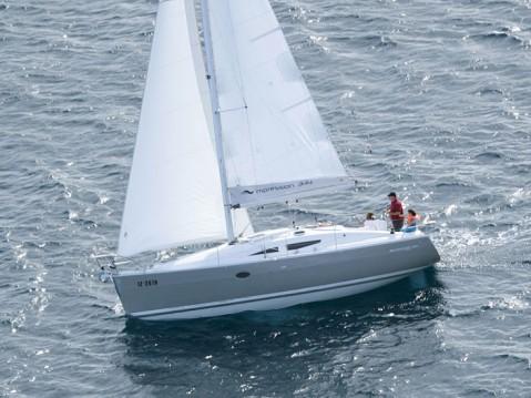 Noleggio Barca a vela a Kórfos – Elan Elan 344