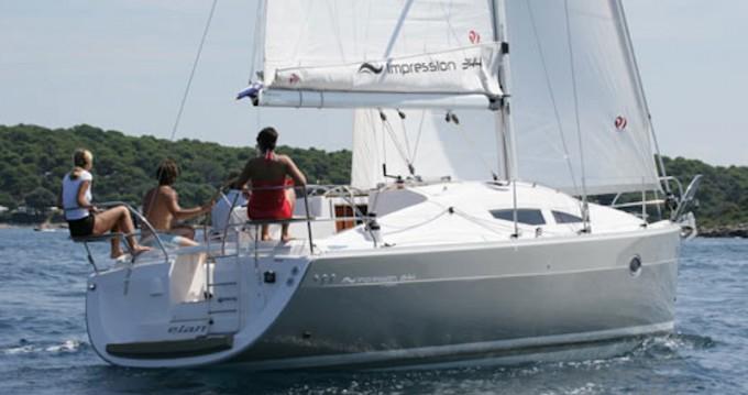 Noleggio barche Kórfos economico Elan 344