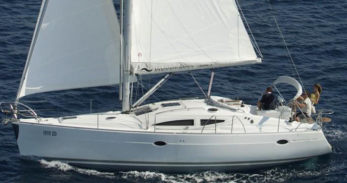 Noleggio Barca a vela a Kórfos – Elan Elan 384