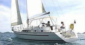 Noleggio barche Kórfos economico Oceanis 40