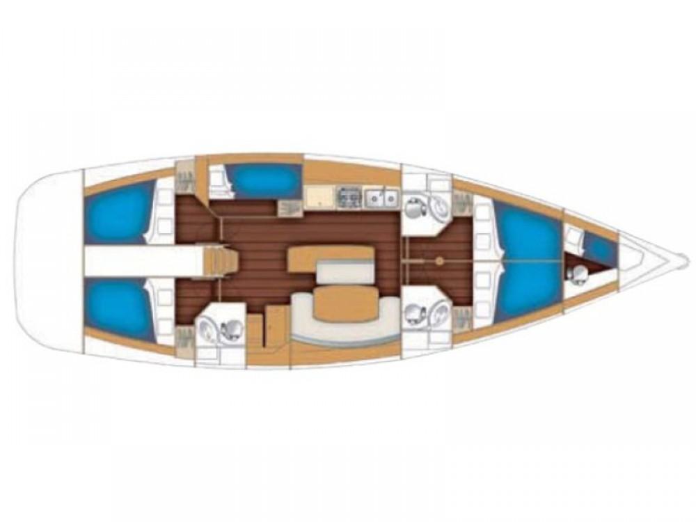 Noleggio barche  economico Beneteau Cyclades 50.5