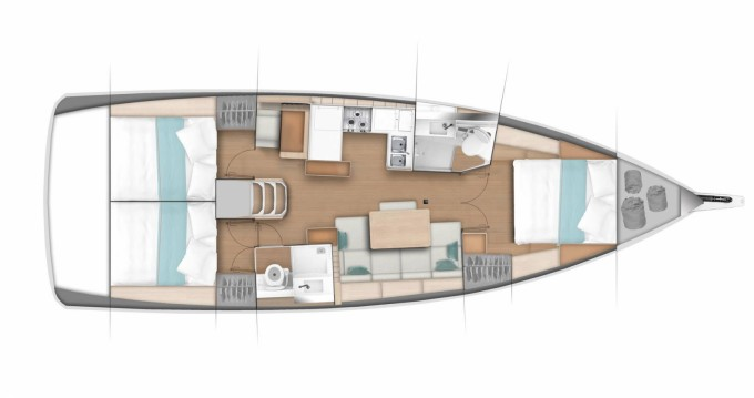 Noleggio Barca a vela a Procida – Jeanneau Sun Odyssey 440