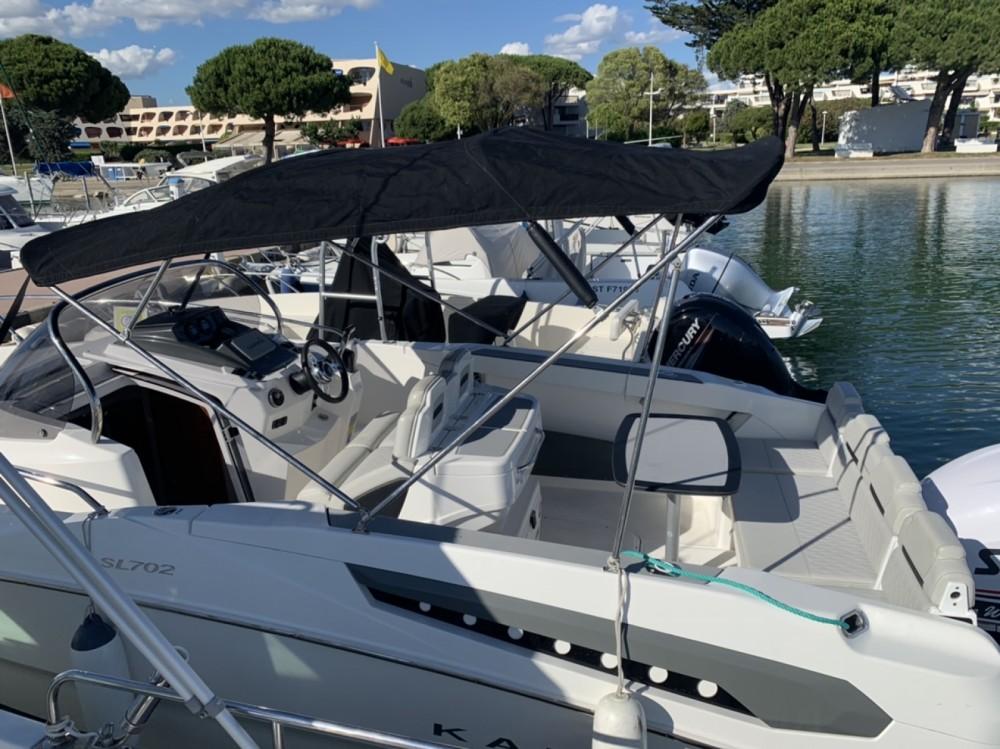 noleggio Barca a motore Le Grau-du-Roi - Karnic SL 702
