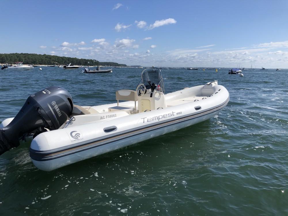 Noleggio barche Capelli Tempest 650 Lège-Cap-Ferret su Samboat