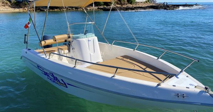 Noleggio Barca a motore Aquamar con patente nautica