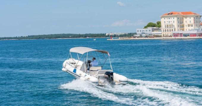 Noleggio barche Tiger Proline Tigermarine 620 a Poreč su Samboat