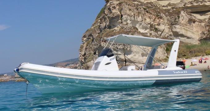 Noleggiare una Nautica Service D'Aleo Sun Sea 25 a Tropea