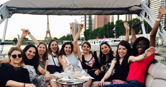 Noleggio Barca a motore a Paris – Suntracker Party barge