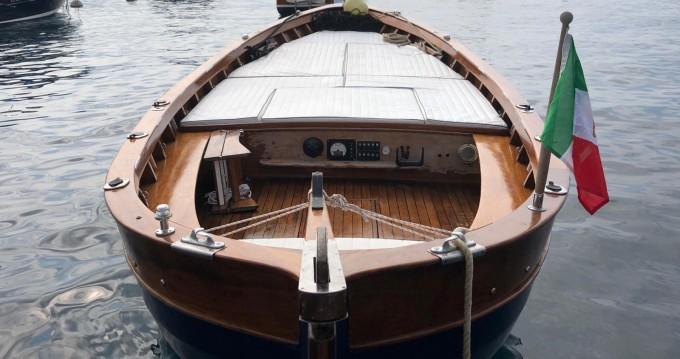 Noleggio Barca a motore con o senza skipper Gozzo Scipione a Santa Margherita Ligure