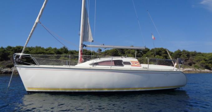 Noleggio Barca a vela a Golfe-Juan – Jeanneau Sun Way 25