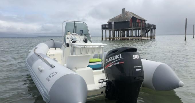Noleggio barche Zodiac Pro Open 550 a Andernos-les-Bains su Samboat