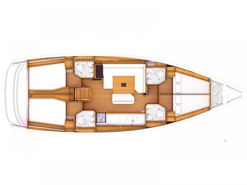 Noleggio barche Jeanneau Sun Odyssey 479 Leucade su Samboat
