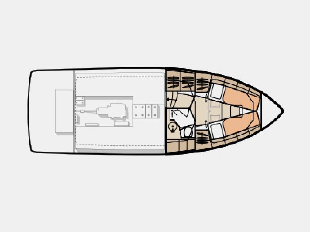 Barca a motore a noleggio Vila Nova de Gaia al miglior prezzo