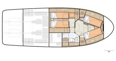 Noleggio barche Porto economico Greenline 40
