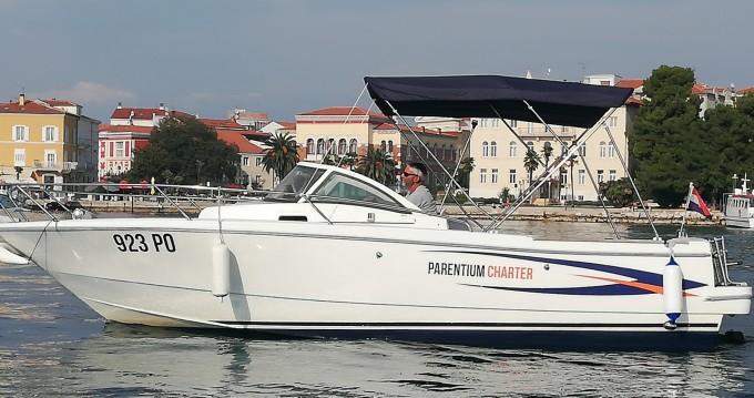 Barca a motore a noleggio a Poreč al miglior prezzo