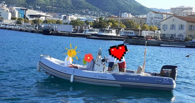 Noleggio yacht a Toulon – Zodiac Medline 580 su SamBoat